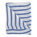 Stockinette Striped Dish Cloths Blue