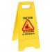 Floor Sign CLEANING in PROGRESS