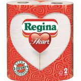 Regina Heart Kitchen Towels 3ply White 20 Rolls