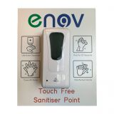 Enov E510 Wall Mounted Touch Free Sanitiser Point