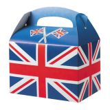 Union Jack Flag Meal Boxes