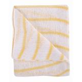 Stockinette Striped Dish Cloths Yellow