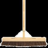 Wooden Broom Complete Stiff 24\