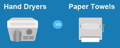Electric Hand Dryers Vs Paper Towels